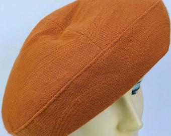 a7373723179b9a Vintage Burnt Orange Christian Dior for Bonwit Teller Women's Hat