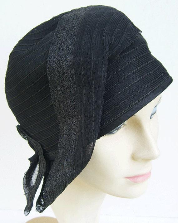 a828b3ef745c9 23 1920 s Vintage Black Horsehair Women s Deco