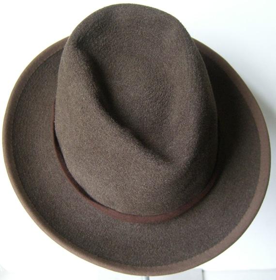 7 1/2 - J. Press Vintage 1940's Men's Fedora Hat