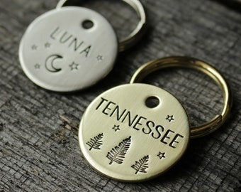 Dog tag for your pet - Personalized ID tag - MJ Lessard