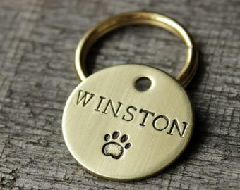 Dog ID tag - Personalized pet tag for collar
