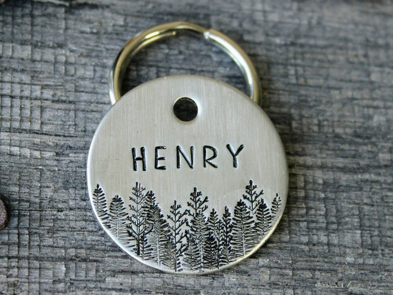 Dog tag  Personalized with your pet Identity  Pet gift image 0