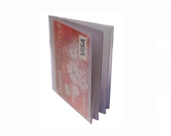 Orchids Checkbook Cover with Register /& Photo Insert//Debit Card Holder