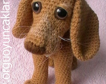 Crocheted Dog