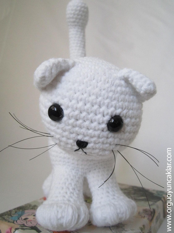 Amigurumi Cat Pattern Etsy