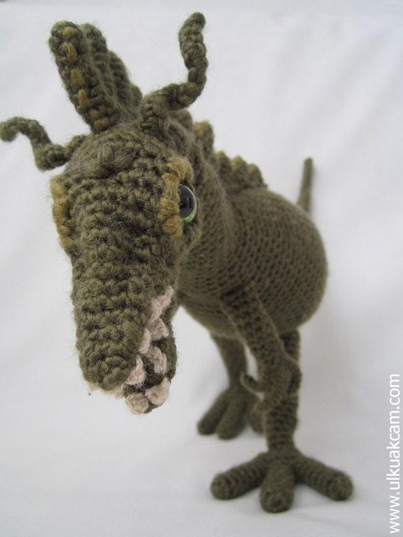 Amigurumi Dinosaurier-Muster | Etsy