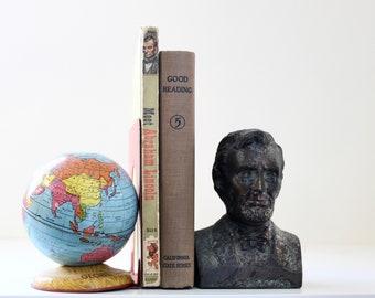 Save Those Pennies - Vintage Abraham Lincoln Bank - Honest Abe - Bronze