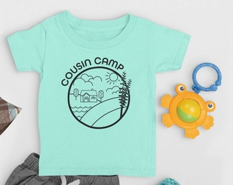 Cousin Camp Grandmas house shirt. Cousin Crew summer Vacation. The Original Cousin Crew Shirts. Name and numbers are extra! link in info.