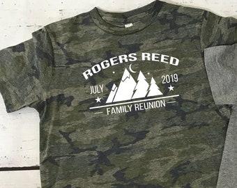Summer Camp shirts. Family Reunion Shirt. Family Vacation Shirts. Customizable family vacation shirts. Camp Shirts. Camping shirts.