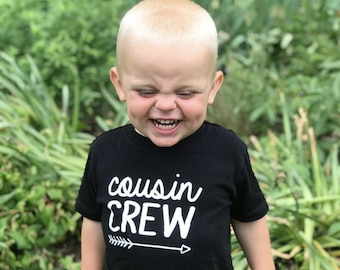 Cousin Crew shirt. The Original Cousin Crew Shirts. Cousin shirts. Name and numbers are extra! link in listing info. 24 colors sizes NB -3XL