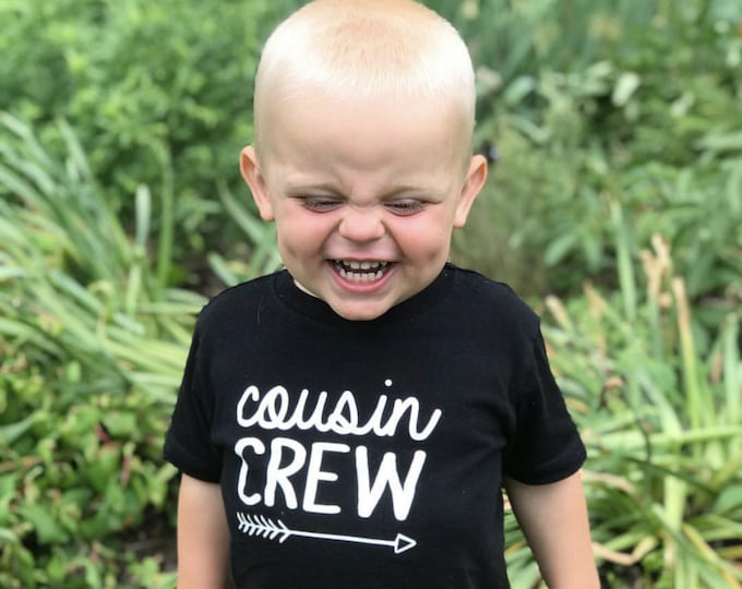 Featured listing image: The Original Cousin Crew Shirts. Cousin Squad. Cousin tribe. NAMES / NUMBERS is Extra: link in item description! Ships in 4-6 Business days!