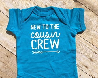 New to the Cousin Crew shirt. Cousin Crew shirts. Cousin Squad. Cousin tribe. Cousin Best Friends, Ships in 4-6 Business days!