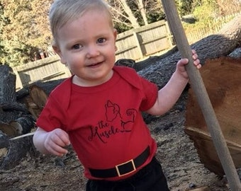 The Muscle. Gaston Shirt. Infant, toddler &  youth sizes. Beauty and the Beast shirt. Vacation Shirt. Cruise Shirt.