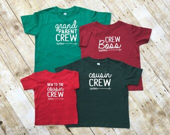 The Original Cousin Crew Family Shirts. Cousin Squad. Cousin tribe. Names & numbers are extra: link in item description!