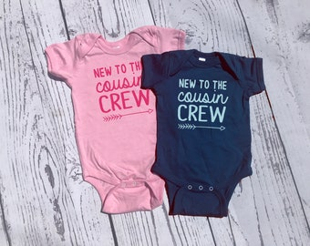 Cousin Crew shirt. New to the Cousin Crew shirts. Cousin Squad. Cousin tribe. Cousin Best Friends, Ships in 4-6 Business days! 25 colors!