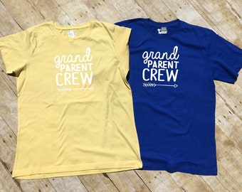 Grand Parent Crew. Cousin Crew shirts. NAMES / NUMBERS is Extra: link in item description! Ships in 4-6 Business days!
