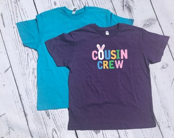 Easter Cousin Crew Shirts. Cousin Squad. Cousin tribe. NAMES / NUMBERS is Extra: link in item description! Fast shipping!