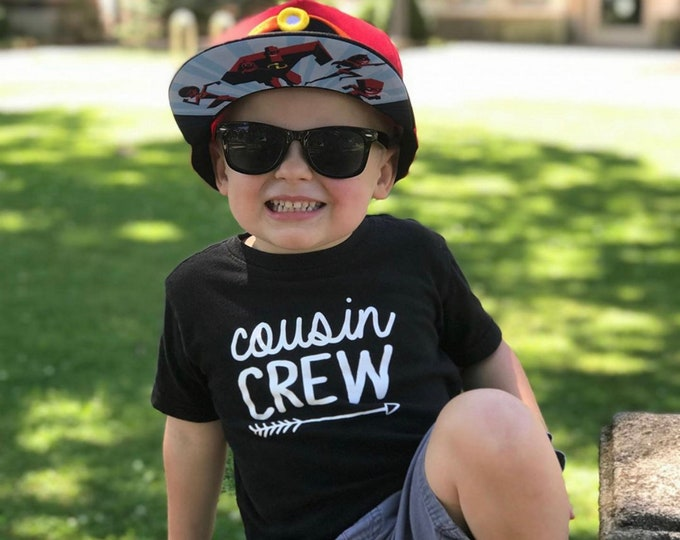 Featured listing image: Cousin Crew shirt. The Original Cousin Crew Shirts. Cousin shirts. Name and numbers are extra! link in listing info. 25 colors sizes NB -3XL