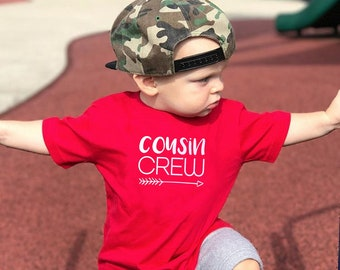Cousin Crew Shirts. The Original Cousin Crew Shirts.  NAMES and or NUMBERS are Extra: link in item description! Ships in 4-6 Business days!
