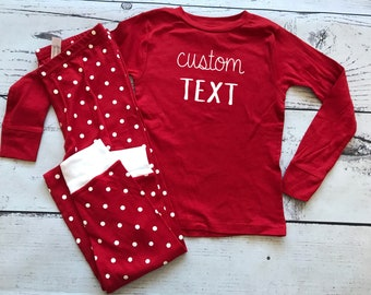 Custom Valentine's Pajamas.  Cousin Crew Valentine Pjs Infant toddler and youth sizes. Cousin Pajama sets. Family Reunion Shirts