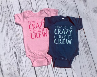 Crazy Cousin Crew shirt. New to the Crazy Cousin Crew shirts. Cousin Best Friends, Ships in 4-6 Business days! 25 colors!
