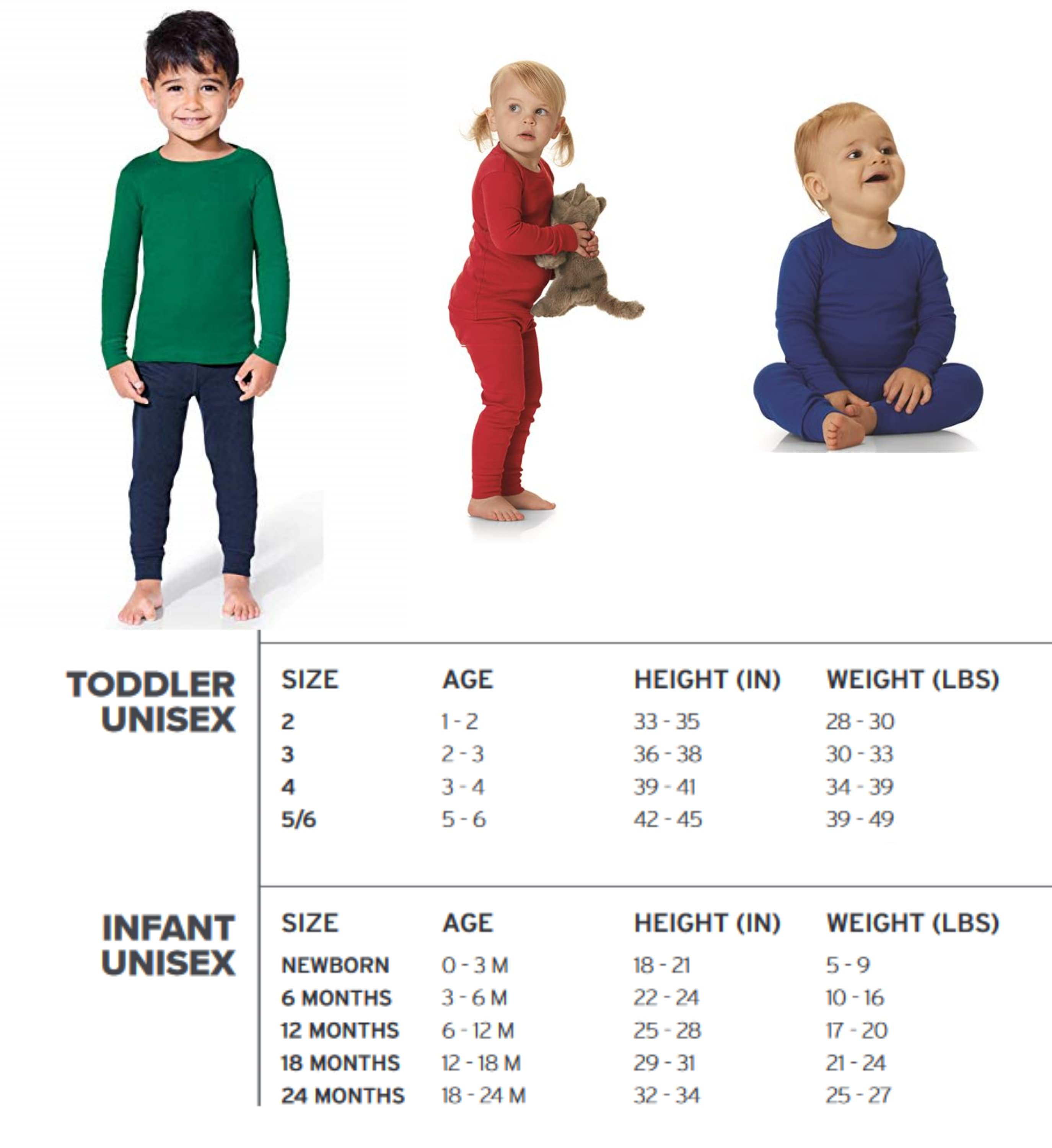 Holiday Cousin Crew: Christmas Pajamas. Infant and Toddler sizes ...