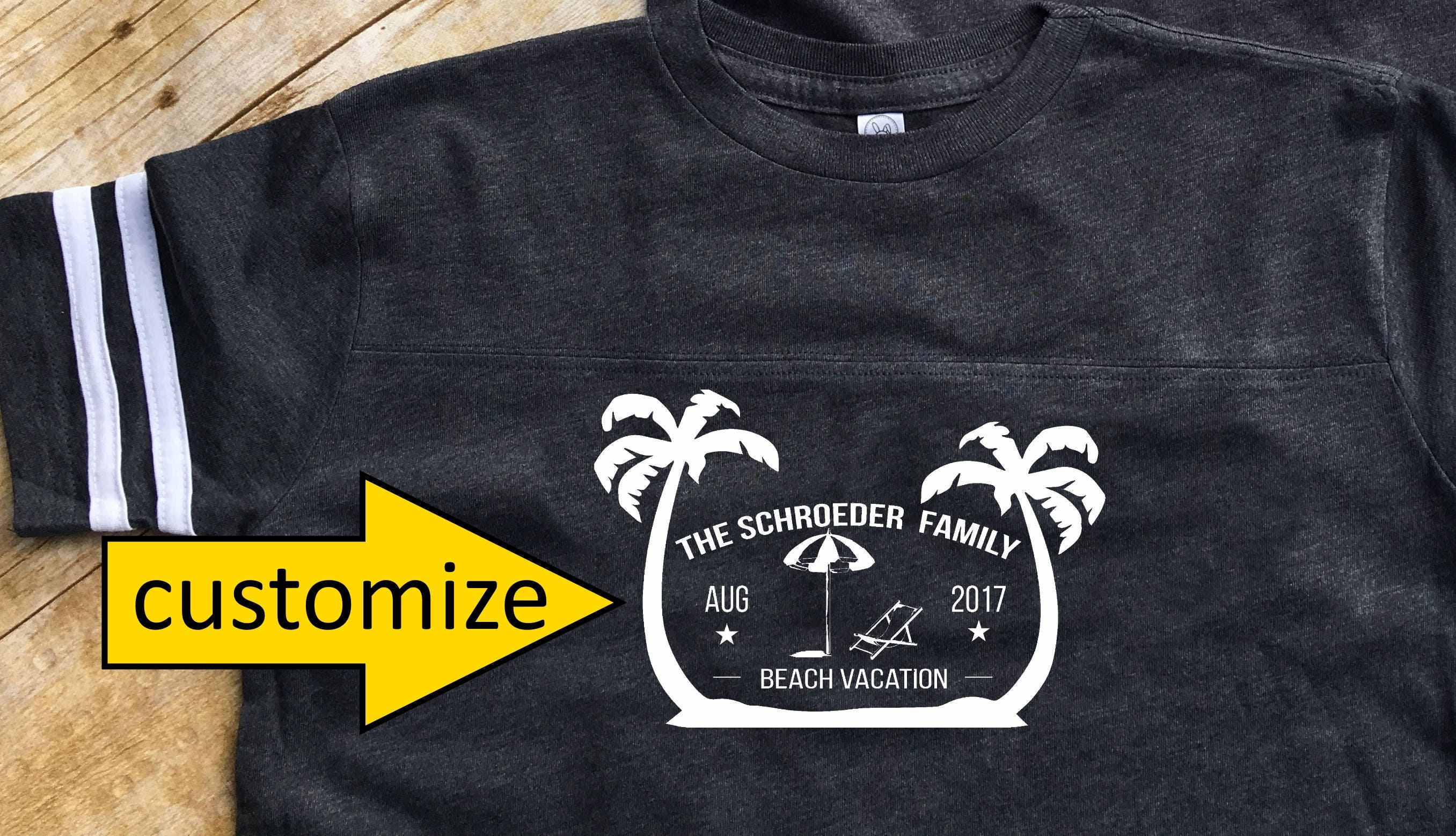 1119fbbd869 Family Vacation Shirts. Beach Vacation shirts. Customizable Family Vacation  shirts. Summer Vacation Shirts. Spring Break shirt.