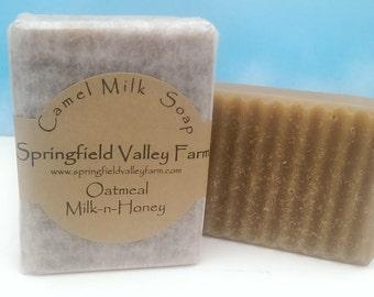 Oatmeal, Milk-n-Honey Soap