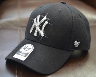 f15ae0c0c85 Bling Bling Customized New York Yankees Cap With Swarovski Crystals