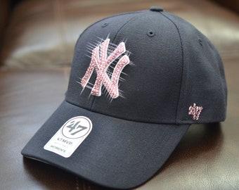 e9f2b4ca ... czech bling bling customized new york yankees cap with swarovski  crystals 3cb89 874b9