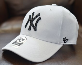 new arrival ce95c 23328 ... order bling bling customized new york yankees 47 mlb core 47 mvp cap  with swarovski crystals