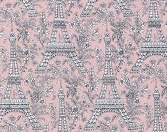 Bloom Eiffel Tower from Michael Miller 1 yard