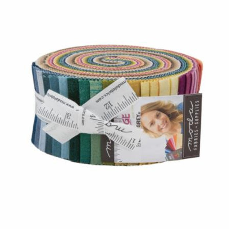 Grunge 2018 by Basic Grey for Moda  Jelly Roll  YES! Continuous yardage and combined shipping
