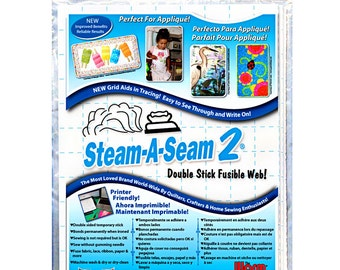 Steam a Seam 2 double sided fusible sheets