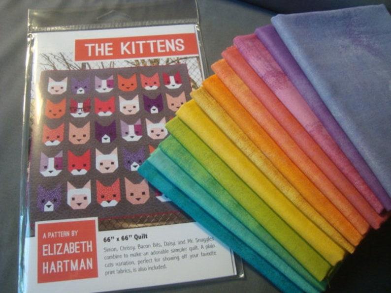 The Kittens quilt Pattern  from Elizabeth Hartman KIT