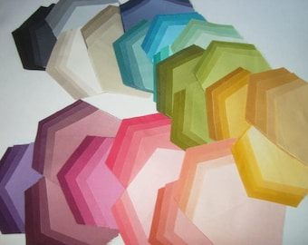 Exclusive Ombre by V and Co for Moda Pre-cut Hexies