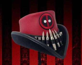 Deadpool Inspired Riding Hat