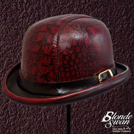 25c55dea45 Dragon Leather Bowler