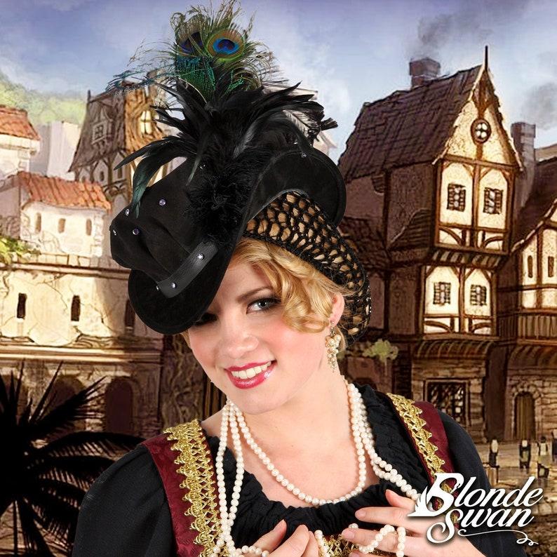 Elizabethan Jeweled Bonnet image 0
