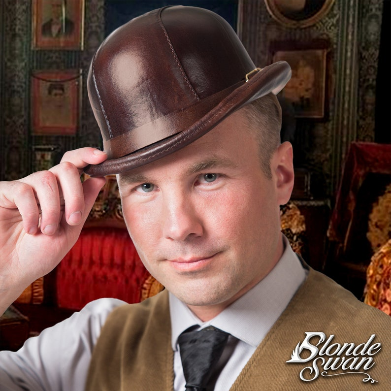 Leather Bowler image 0