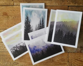 2017 Card Pack   Watercolor Cards   Holiday Cards   Greeting Cards