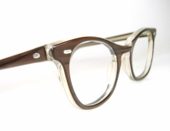 Vintage 50s Cat eye Eyeglasses Sunglasses Frame