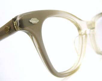 Vintage Cat eye Glasses Eyeglasses Sunglasses Frame Art Craft