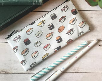 Small Sushi Lovers Zipper Pouch