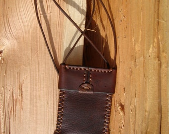 Leather Neck Pouch