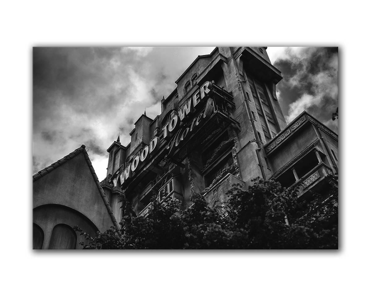Torre del Terror Hollywood Tower Hotel arte de Disney