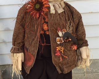Larry the scarecrow