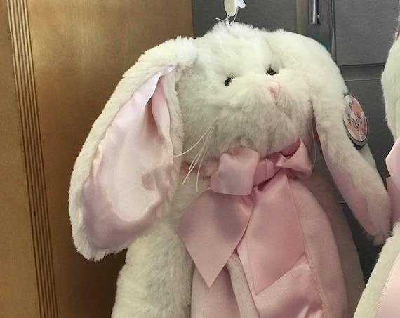 Snuggle Buddy Personalized Bunny Pink