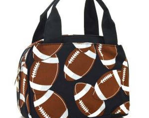 Personalized Football Print Lunchbox