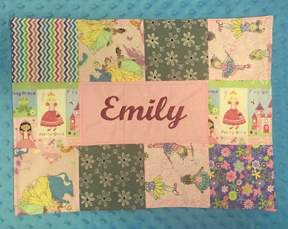 Personalized Custom Placemat With Princesses